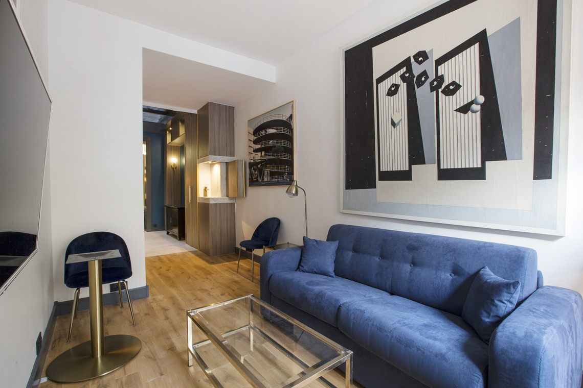 Paris Boulevard de Sebastopol Apartment for rent