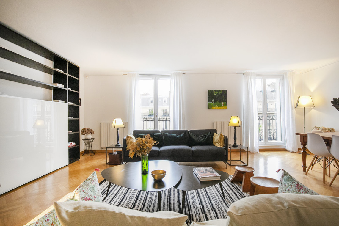 Paris Boulevard de Courcelles Apartment for rent
