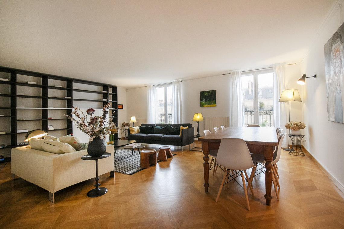 Apartment Paris Boulevard de Courcelles 8