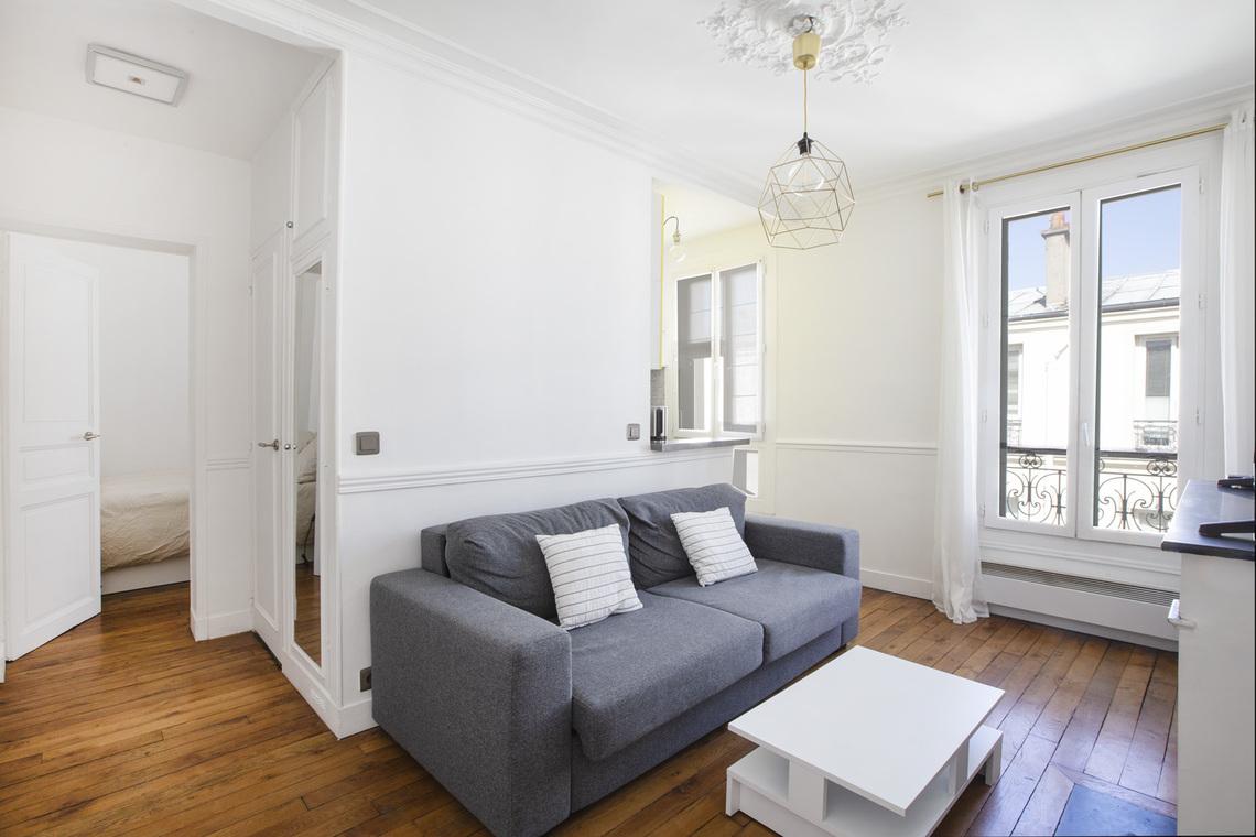 Location appartement meubl de 27 m2 villa letellier paris - Location chambre de bonne paris 16 ...