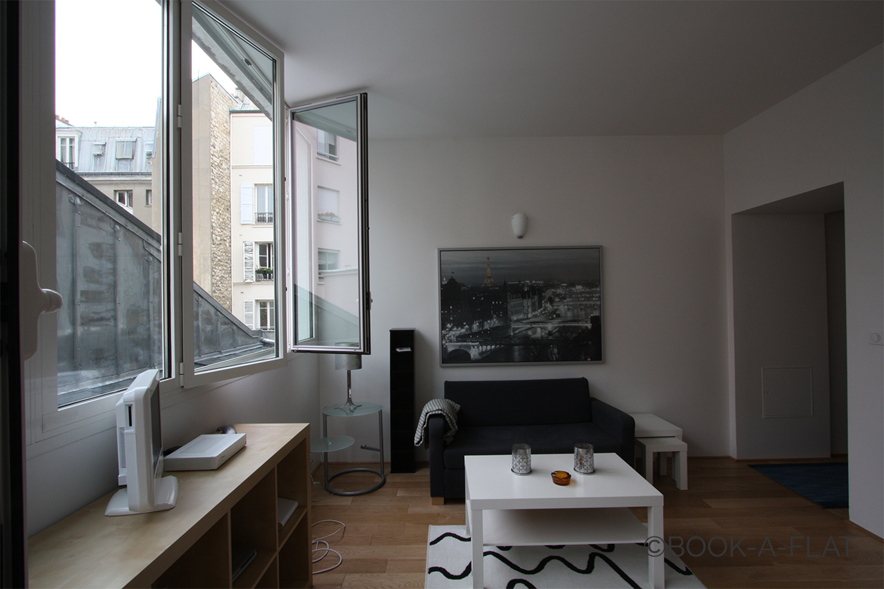 Furnished apartment for rent Paris Rue Robert Lindet