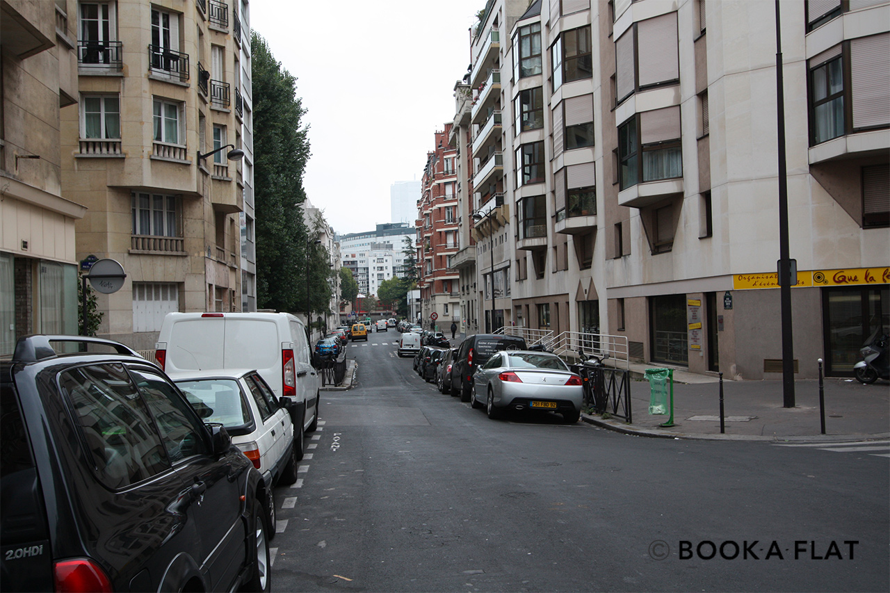 Appartamento Paris Rue Félicien David 18