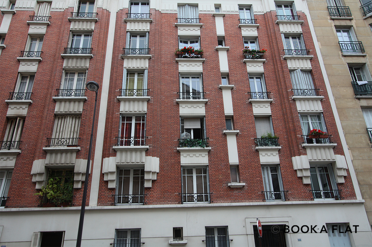 Apartment Paris Rue Félicien David 9