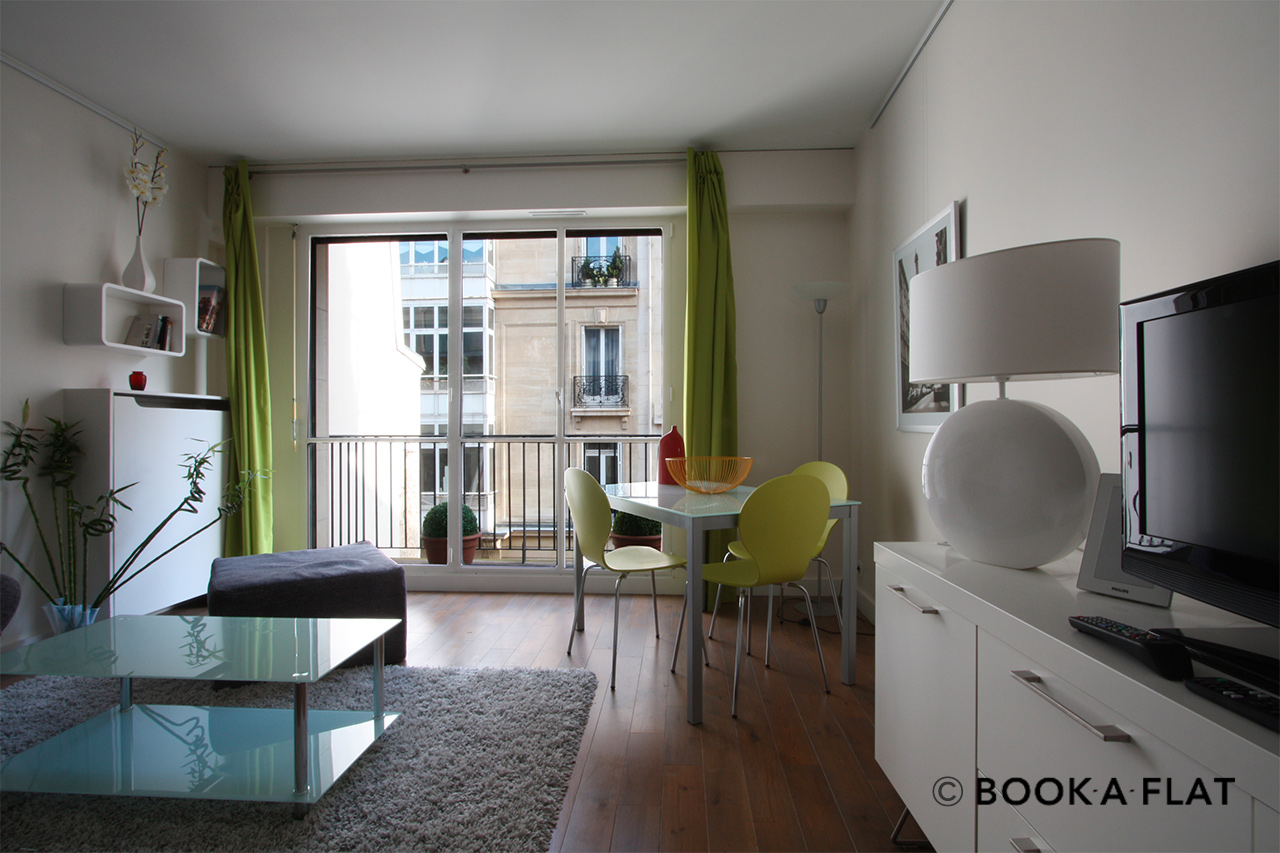 Furnished apartment for rent Paris Rue Scheffer
