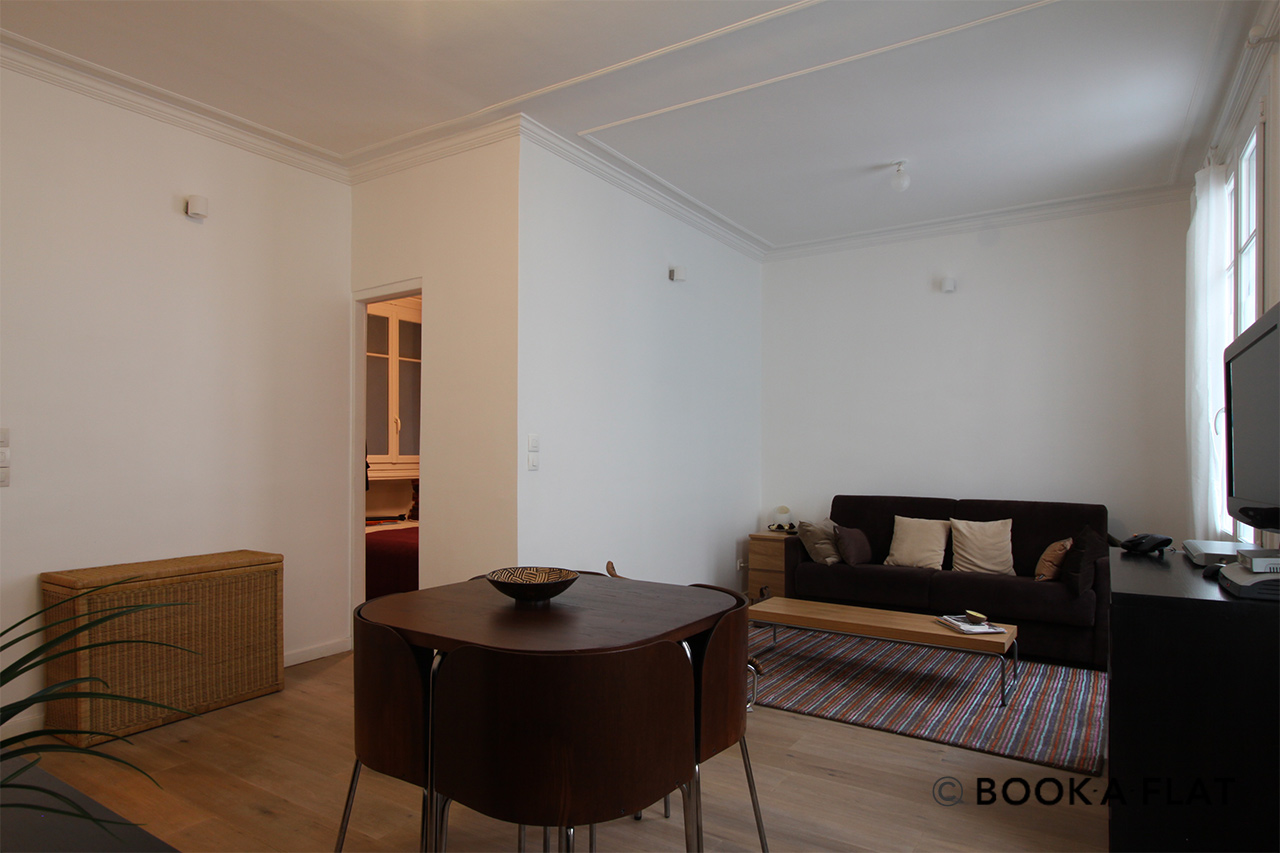 Furnished apartment for rent Paris Rue de l'Agent Bailly