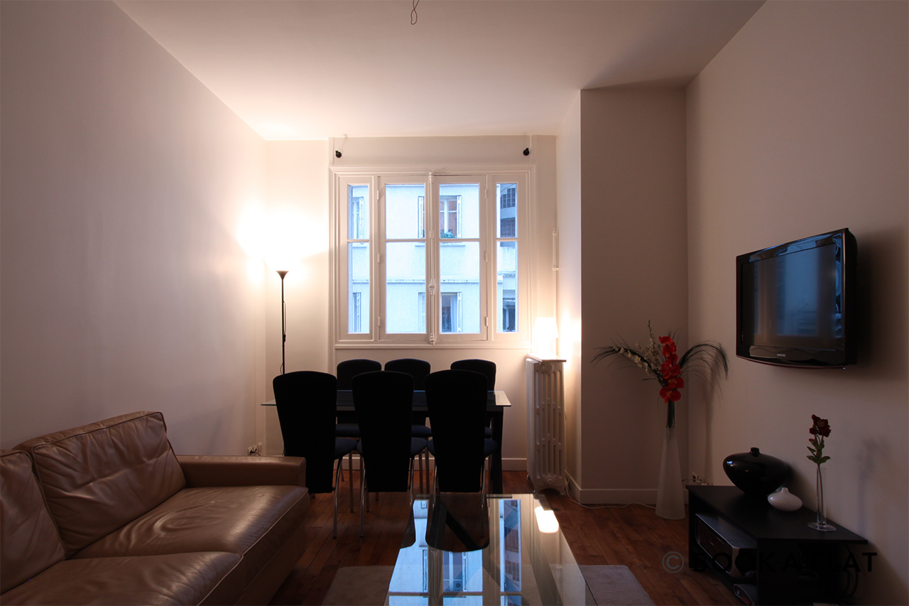 Furnished apartment for rent Paris Rue de la Faisanderie