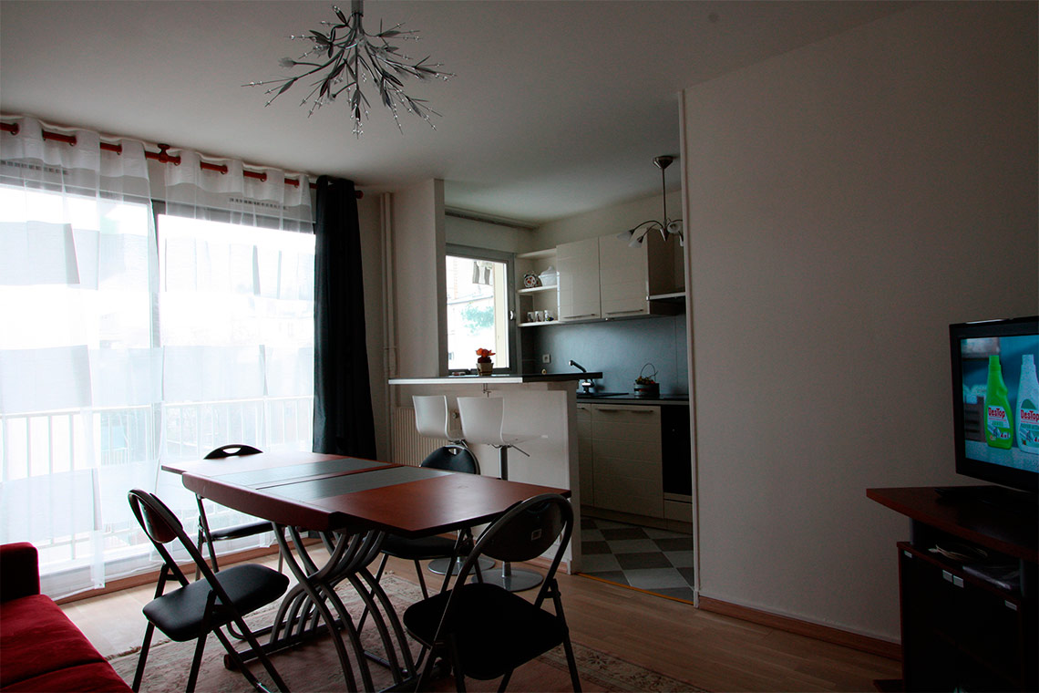 Appartement Paris Rue de Lourmel 5