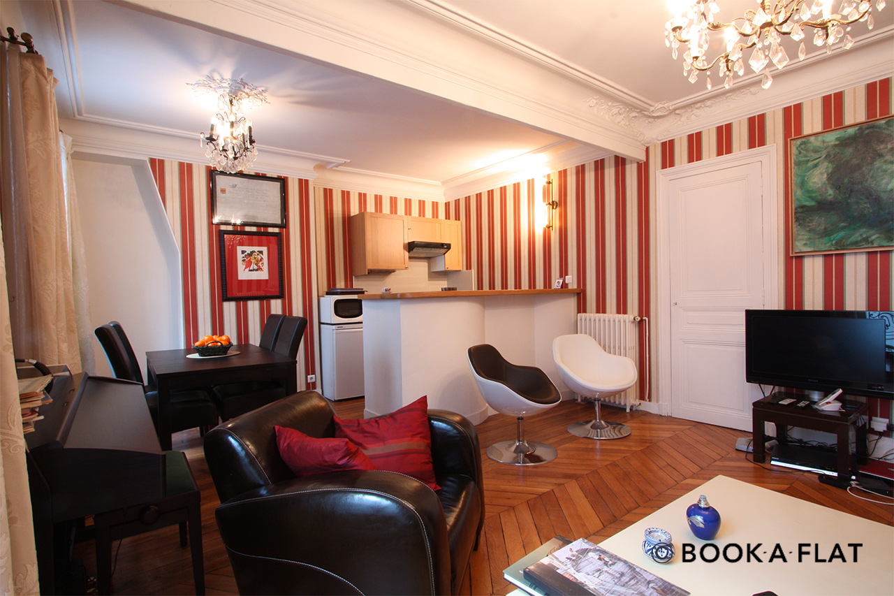 Apartment Paris de Passy 4