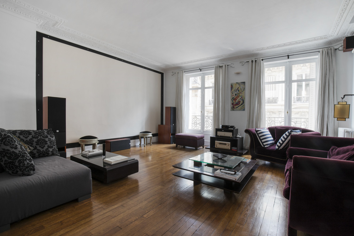 Apartamento Paris Rue Arsene Houssaye 3