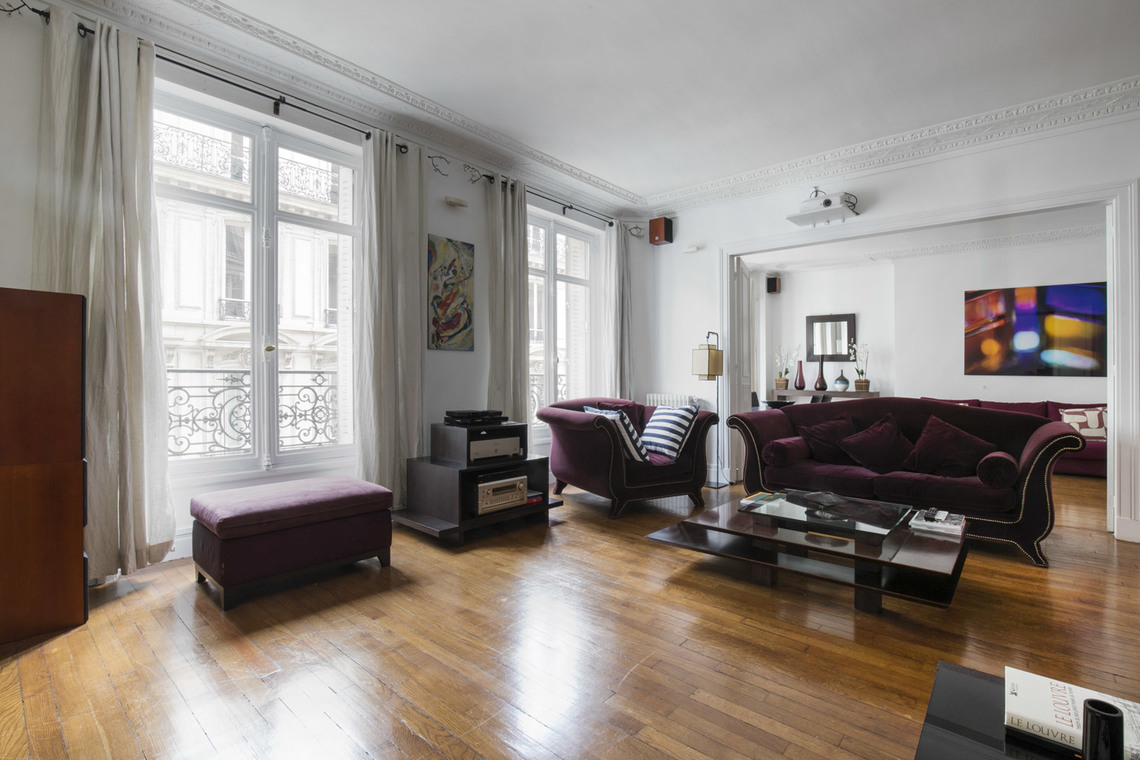 Furnished apartment for rent Paris Rue Arsene Houssaye