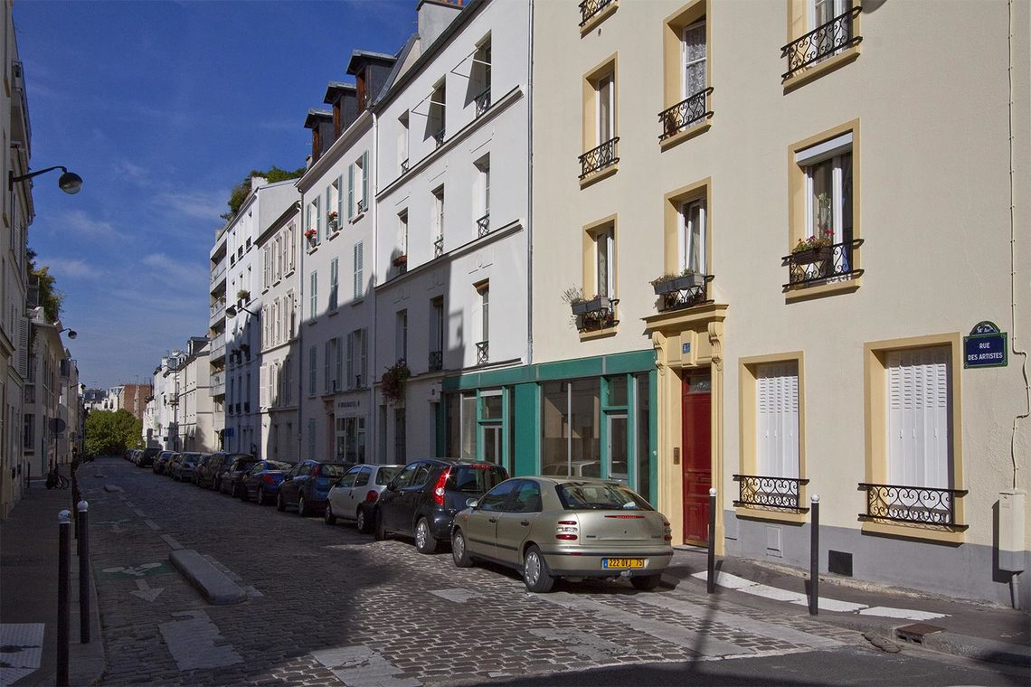 Apartment Paris Rue des Artistes 12