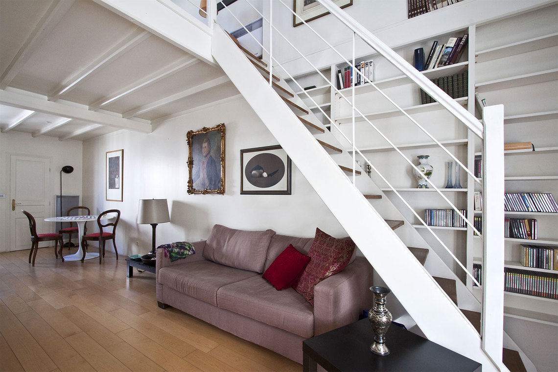Furnished apartment for rent Paris Rue des Artistes