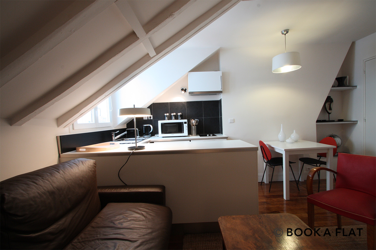 Appartement Paris Rue Germain Pilon 2