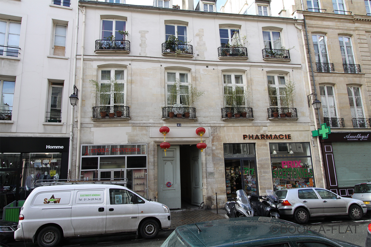公寓 Paris Rue du Temple 9