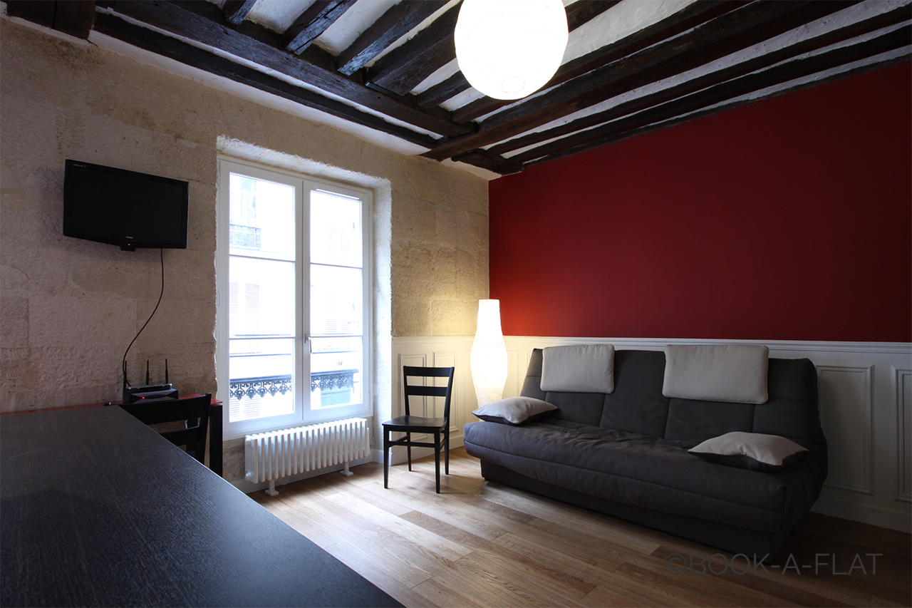 Appartement Paris Rue du Temple 3