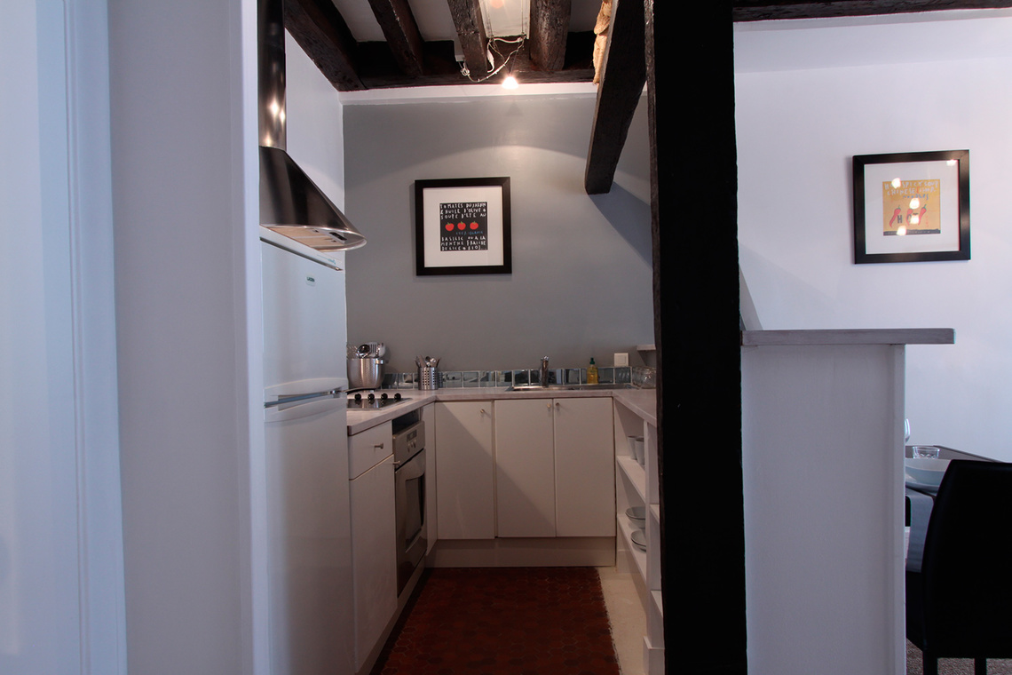 Apartment Paris Rue Mandar 5