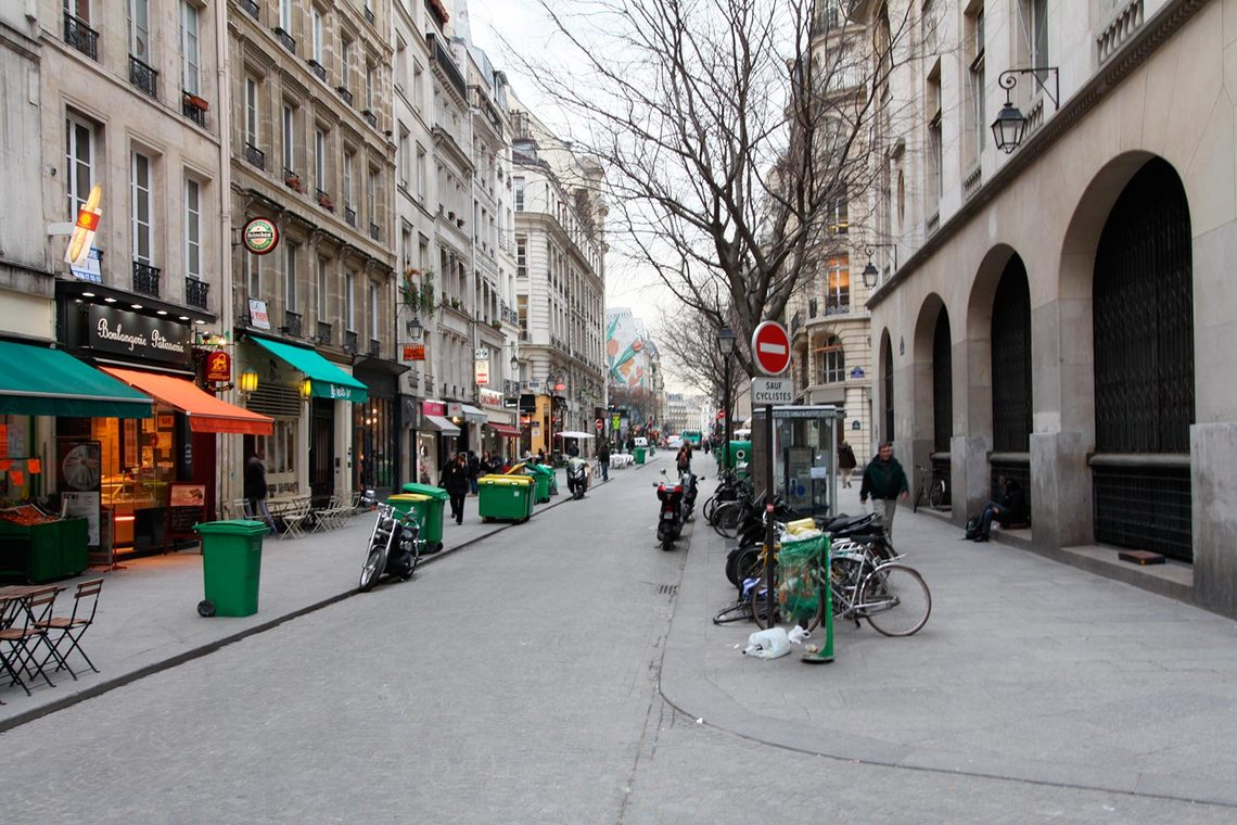 Квартира Paris Rue Mandar 12