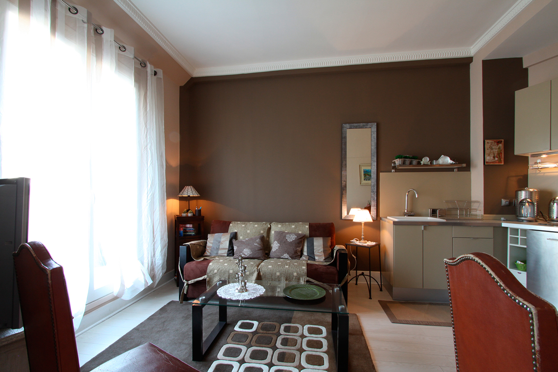 Furnished apartment for rent Paris Boulevard de la Madeleine
