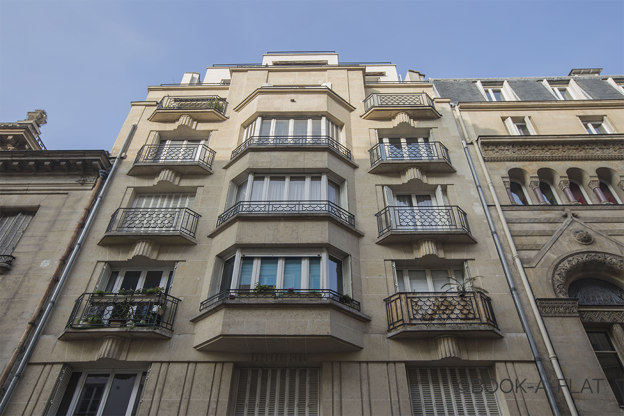 Appartement Paris Rue Blanche 12
