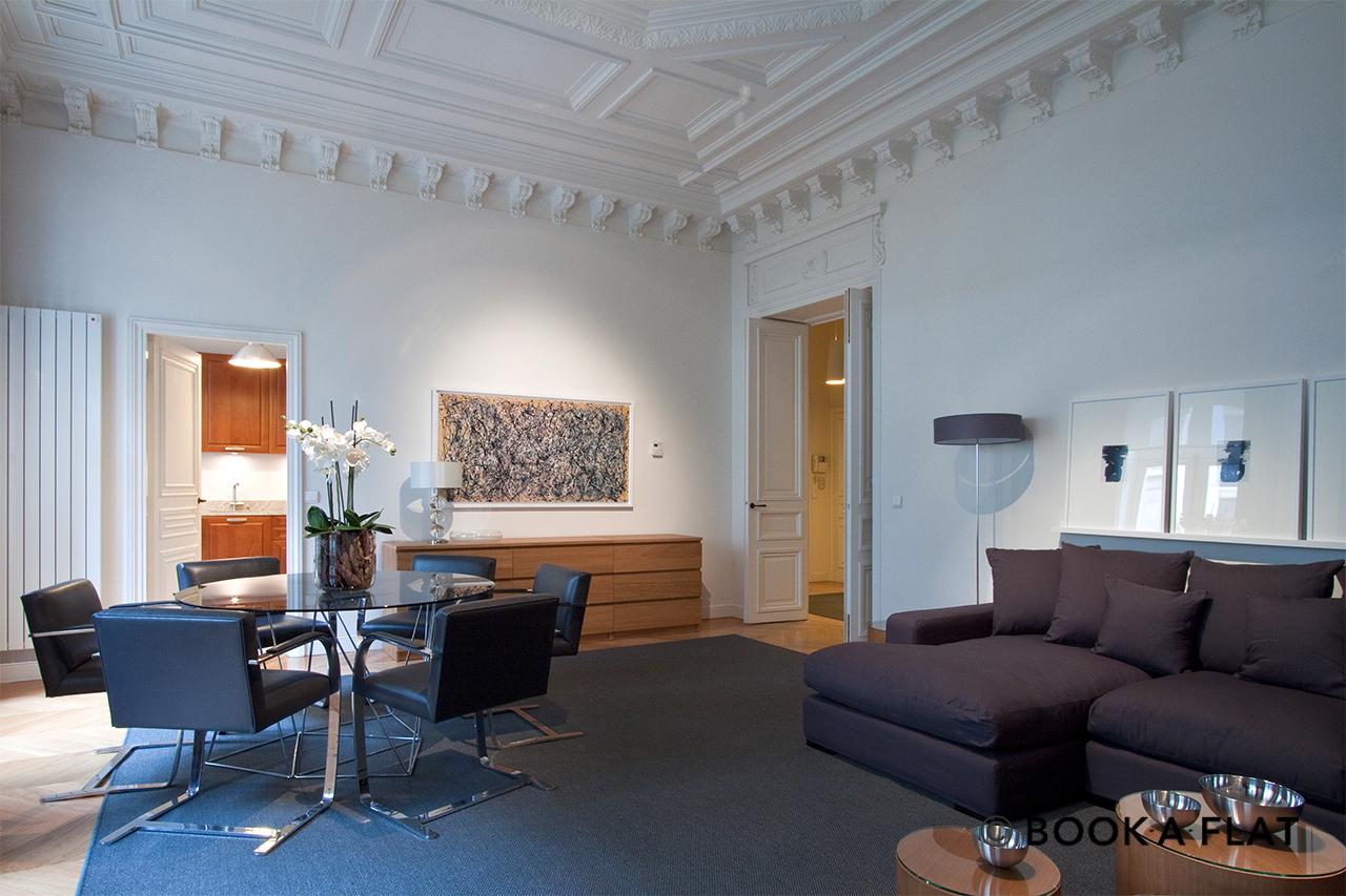 location appartement meubl rue de lisbonne paris ref 2883. Black Bedroom Furniture Sets. Home Design Ideas
