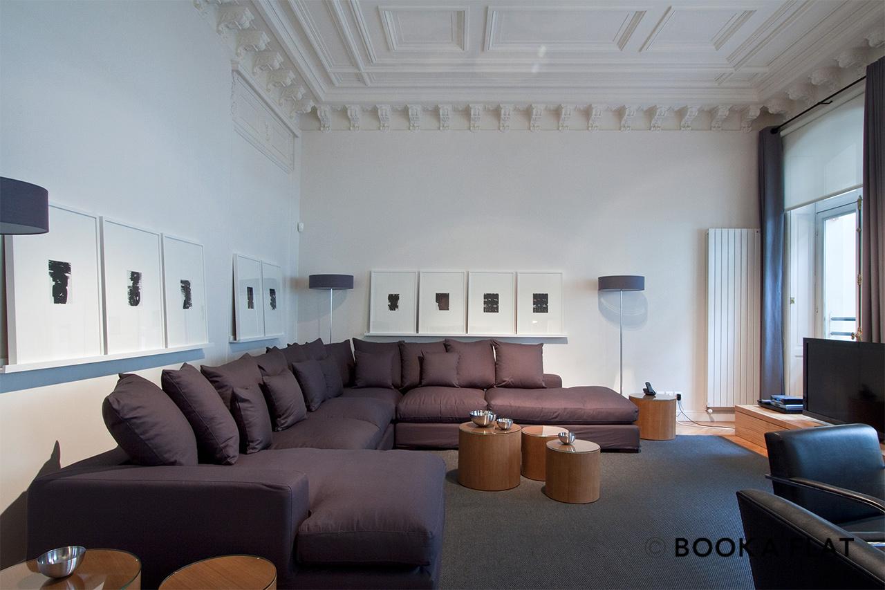 Bon Appartement Meublé à Louer Paris Rue De Lisbonne; Paris Rue De Lisbonne  Appartement à Louer ...