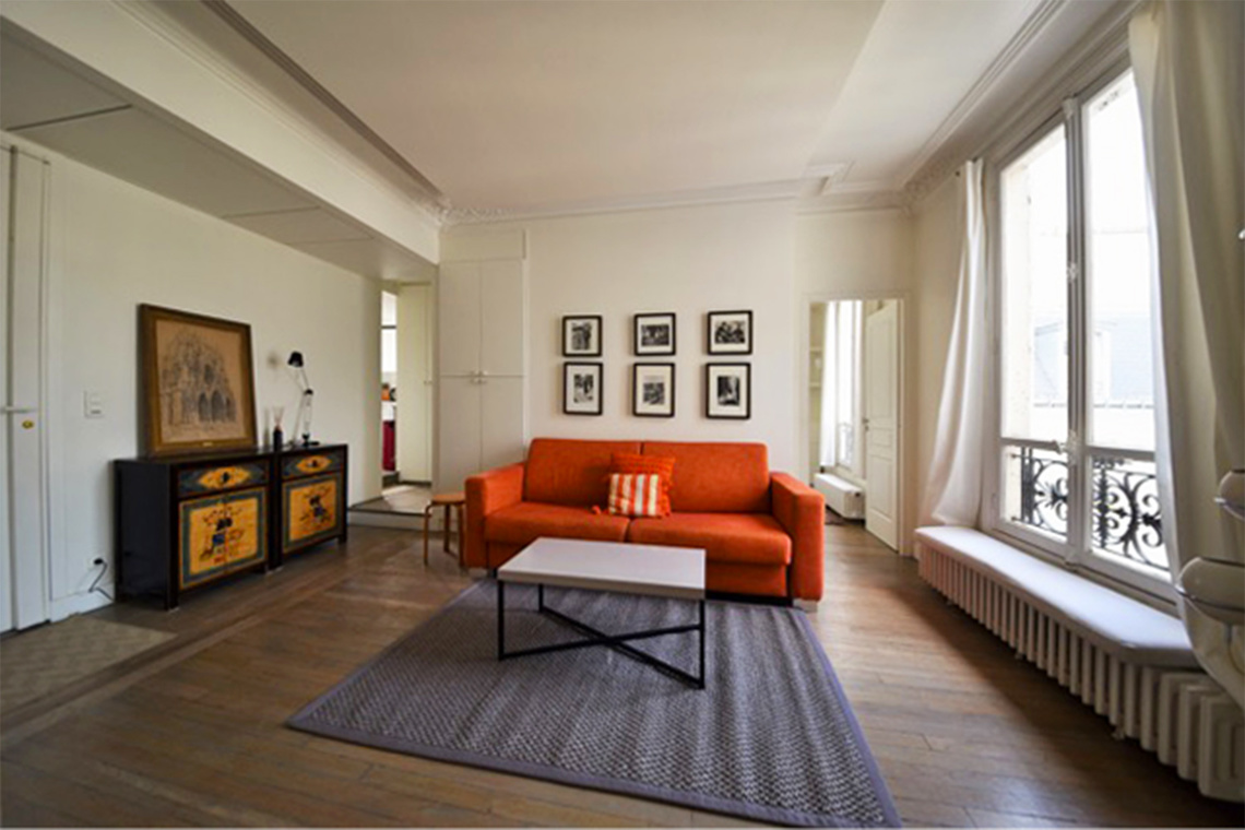 Furnished apartment for rent Paris Rue des Archives
