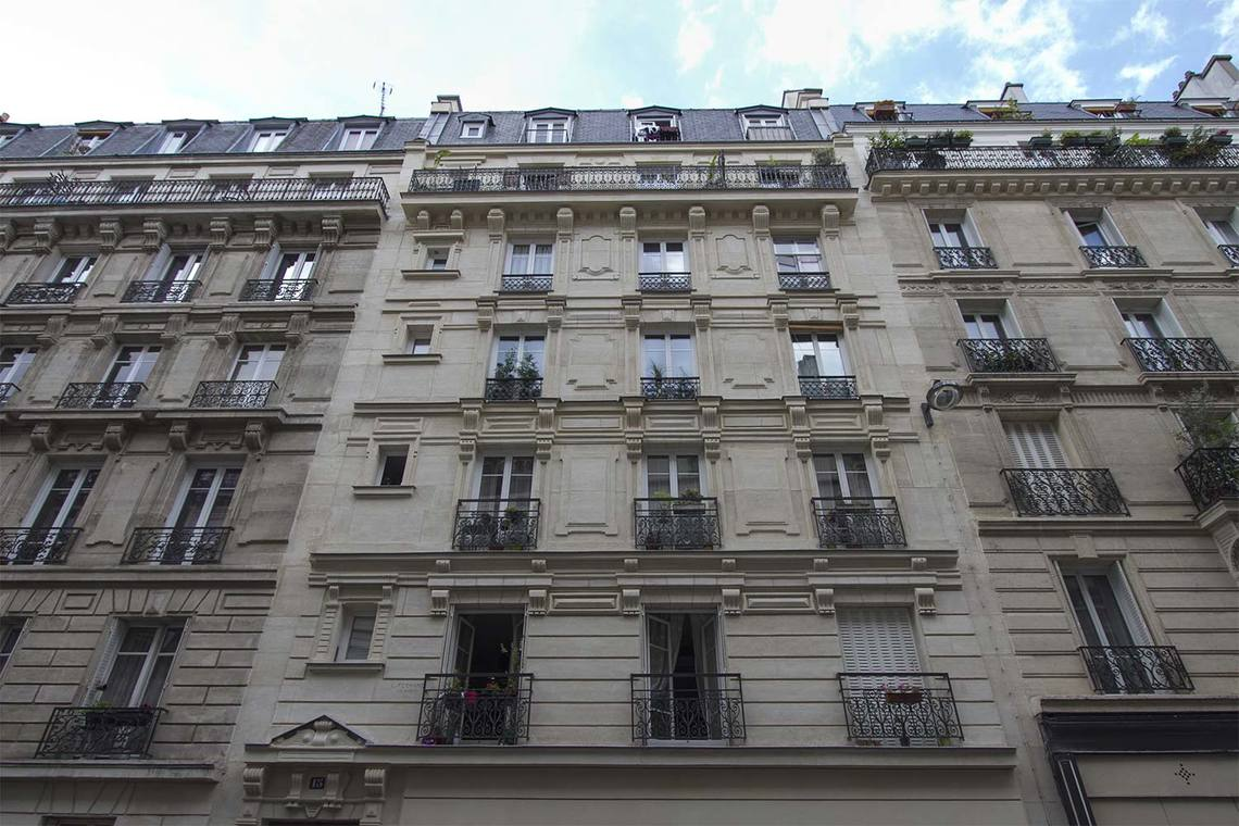 Appartement Paris Rue Pache 12