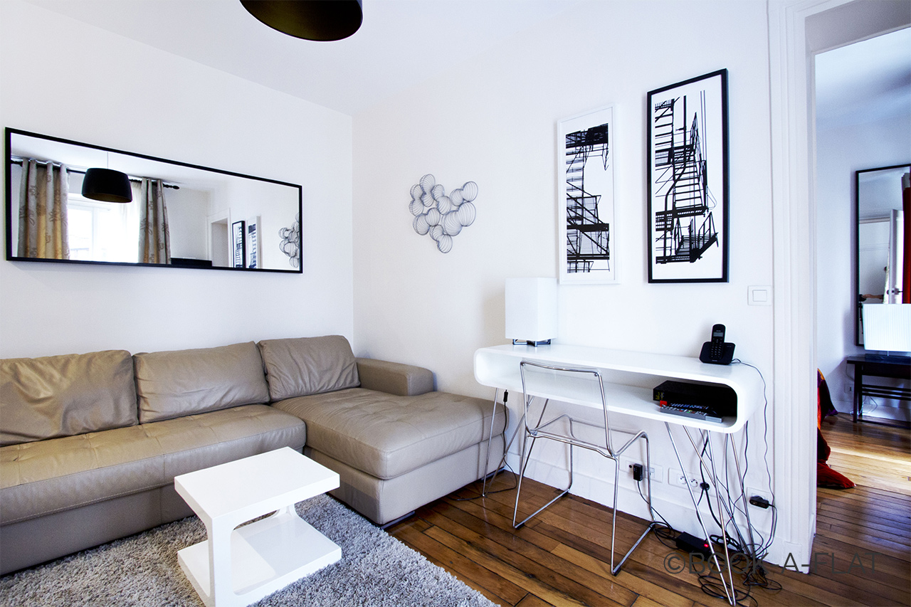 Appartement Paris Rue Pache 2
