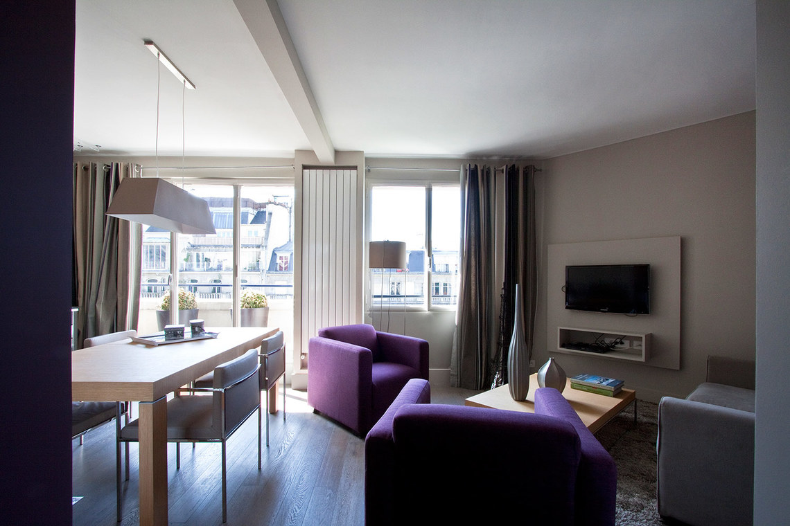 Appartement Paris Boulevard Delessert 4