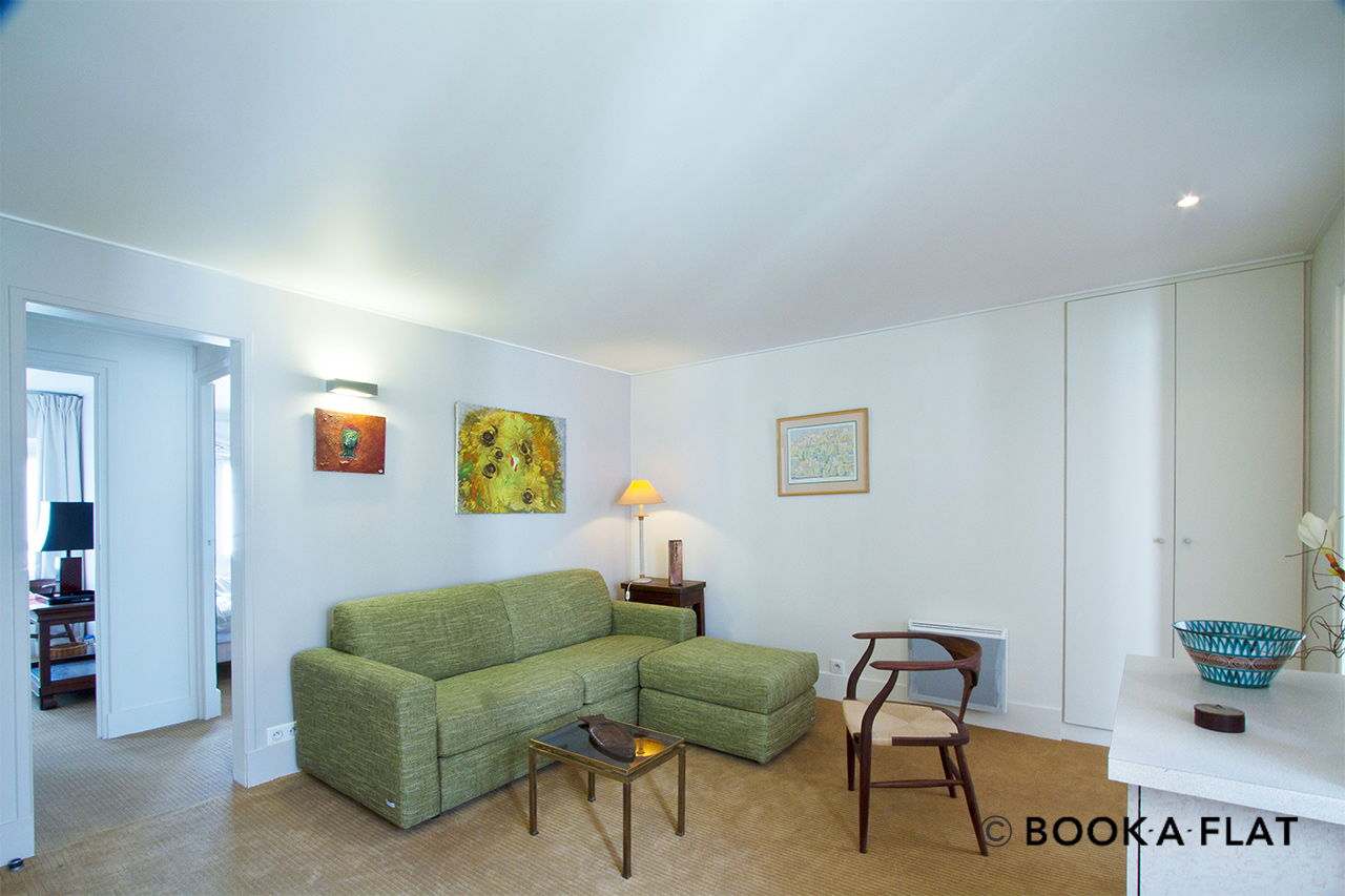 Furnished apartment for rent Paris Rue du Marché Saint Honoré