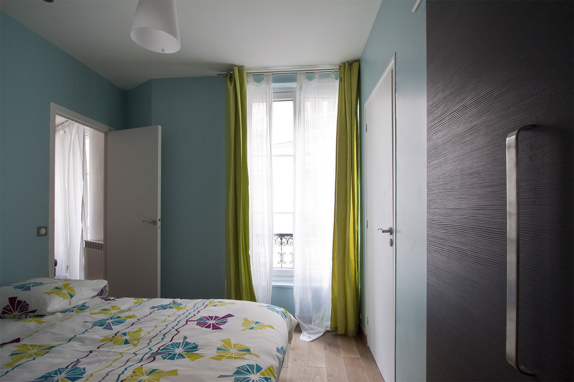 Apartment Paris Rue Monge 7