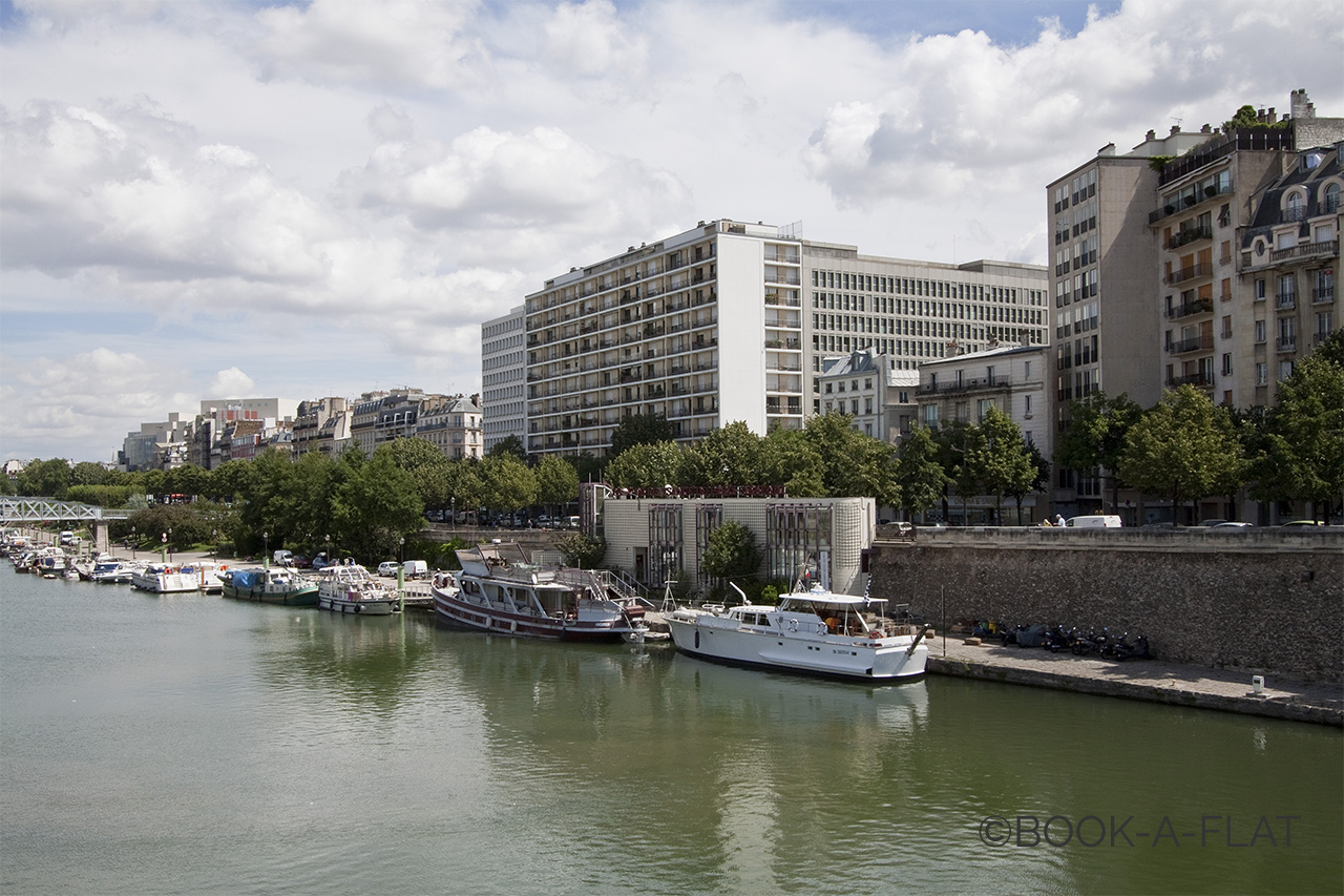 Appartement Paris Boulevard Morland 8
