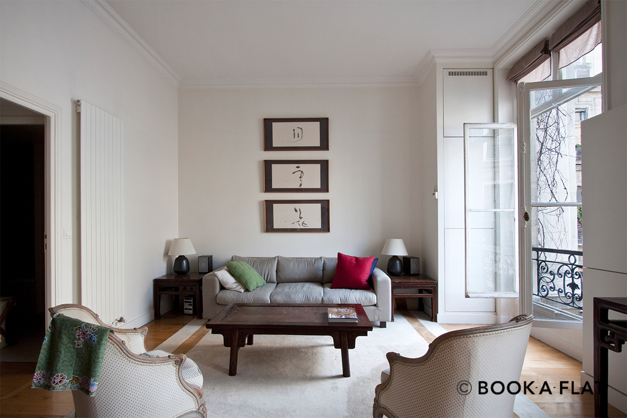 Furnished apartment for rent Paris Rue de Lisbonne