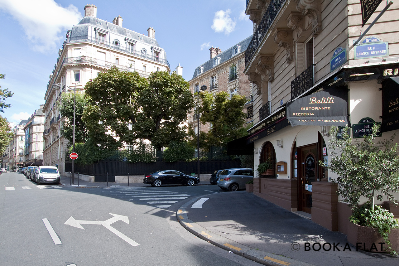 Квартира Paris Rue Léonce Reynaud 12