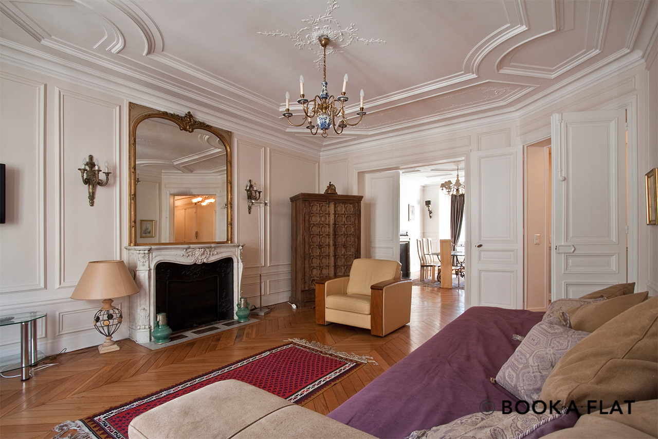 Furnished apartment for rent Paris Rue Léonce Reynaud