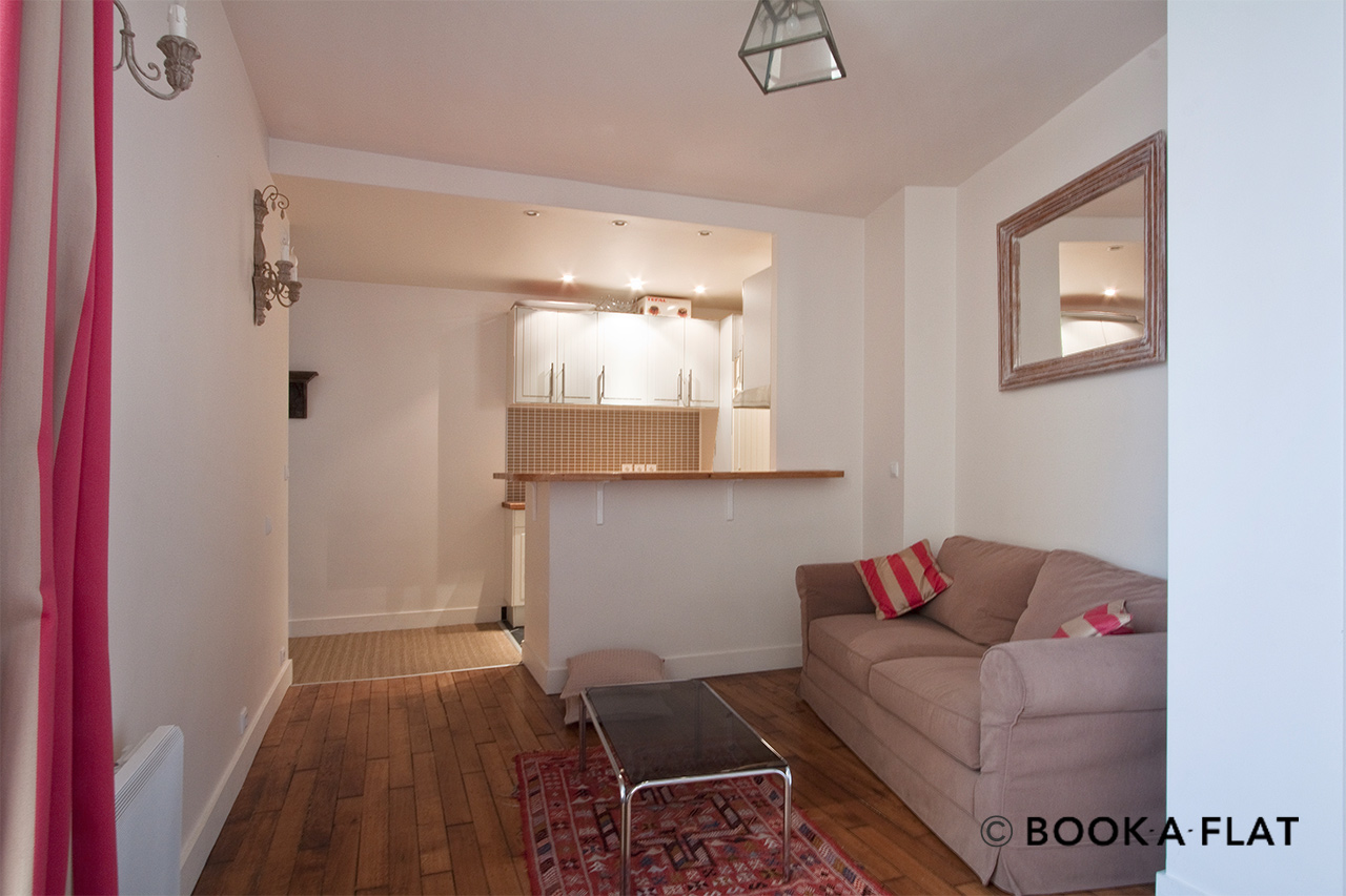 Furnished apartment for rent Paris Rue Letellier