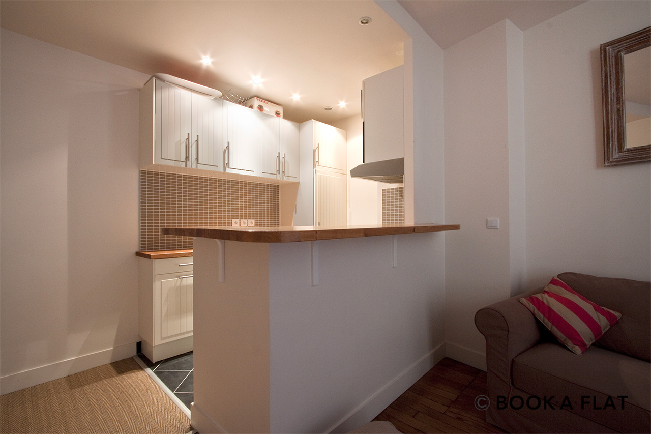 Appartement Paris Rue Letellier 4