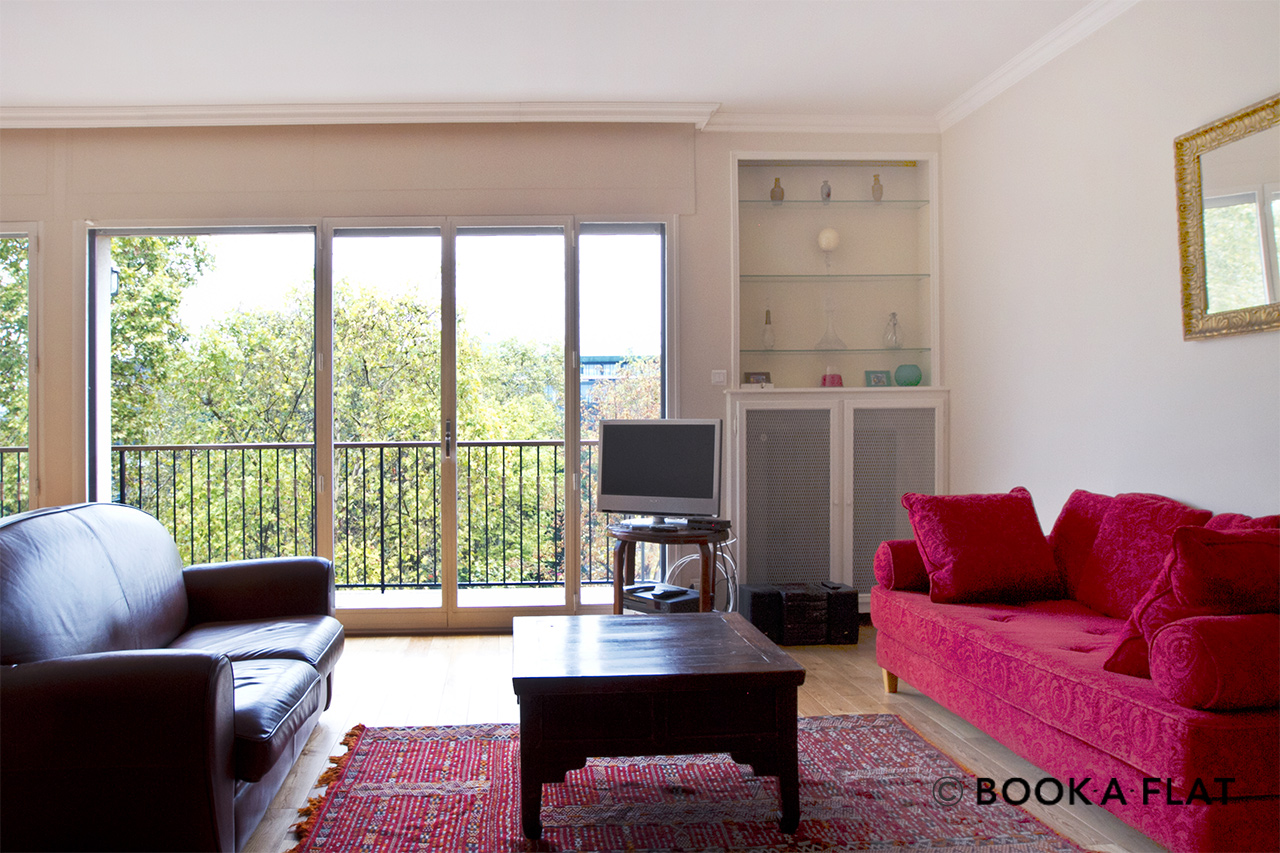 Furnished apartment for rent Neuilly-sur-Seine Boulevard Victor Hugo