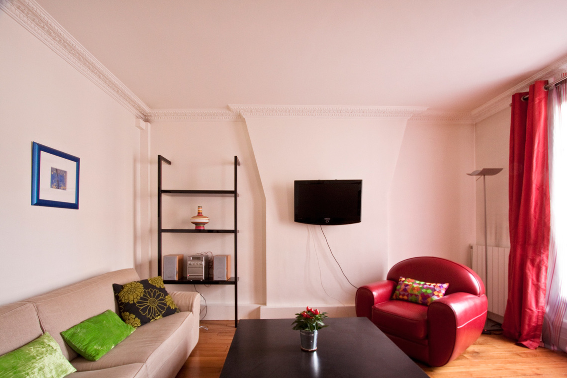 Apartment Paris Rue Gauthey 3