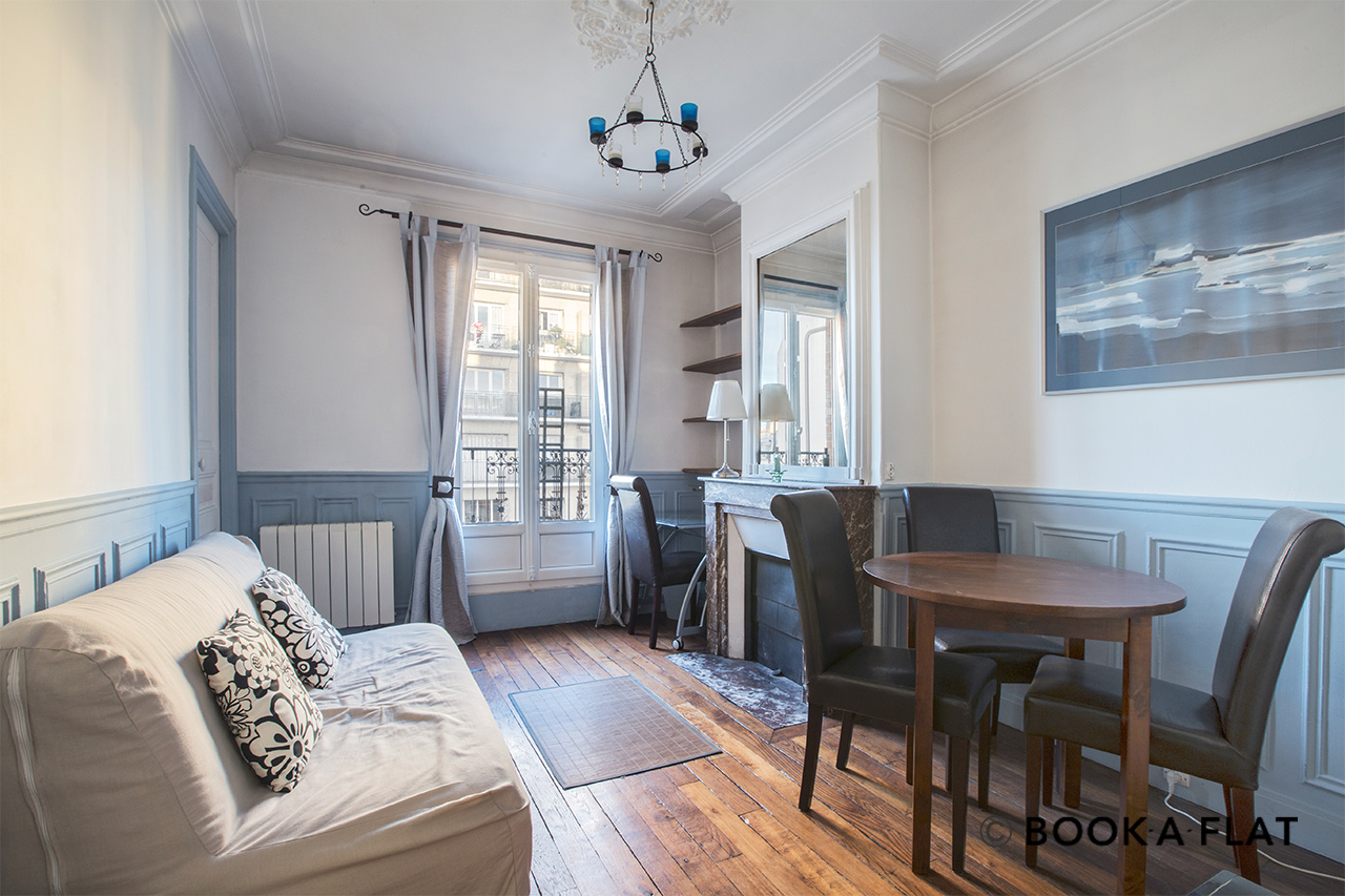 Appartement Paris Lantiez 0
