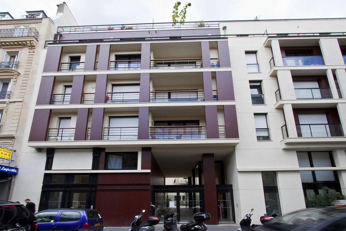 Квартира Paris Rue Pierre Demours 14