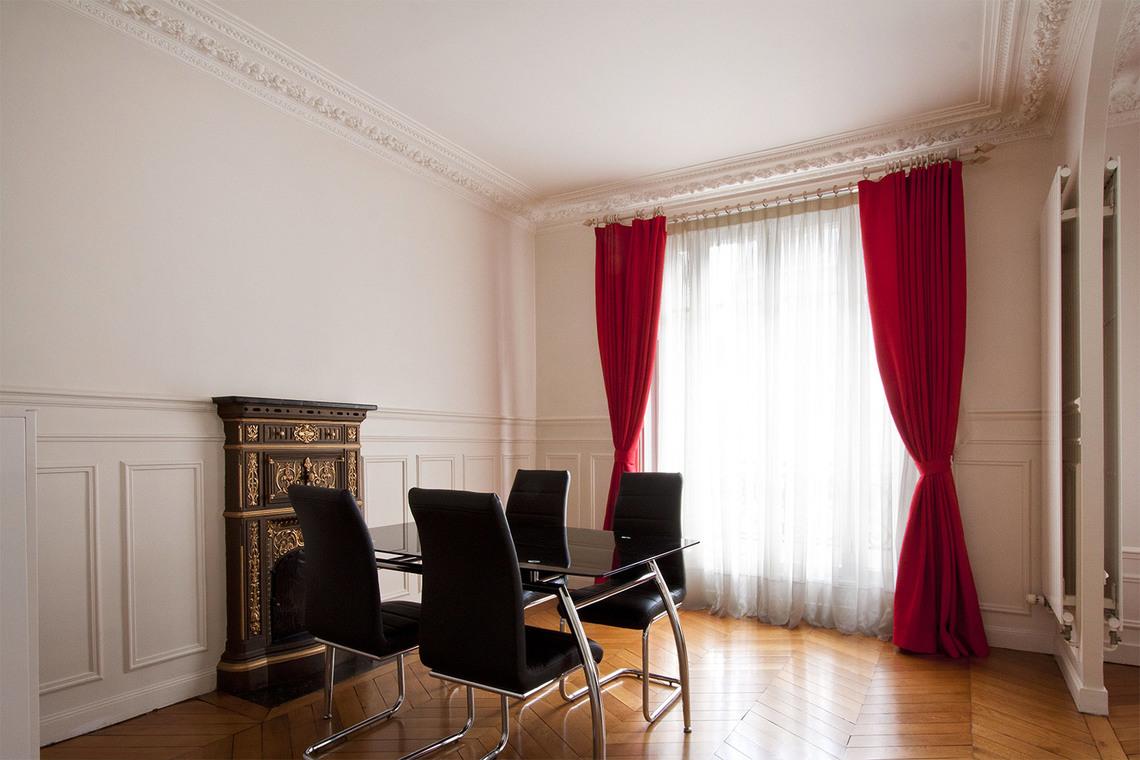 location appartement meubl rue de vouill paris ref 3565. Black Bedroom Furniture Sets. Home Design Ideas
