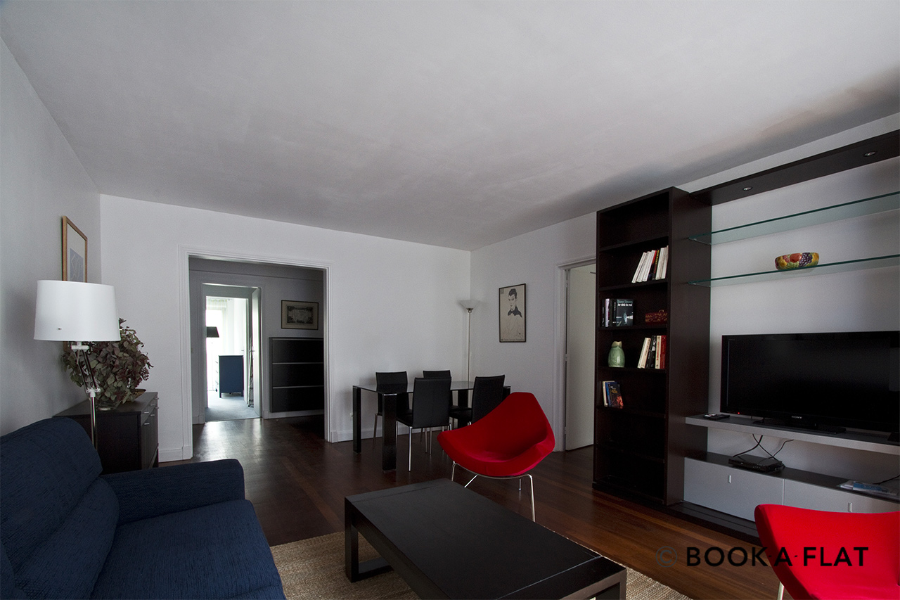 Furnished apartment for rent Paris Rue de Chazelles
