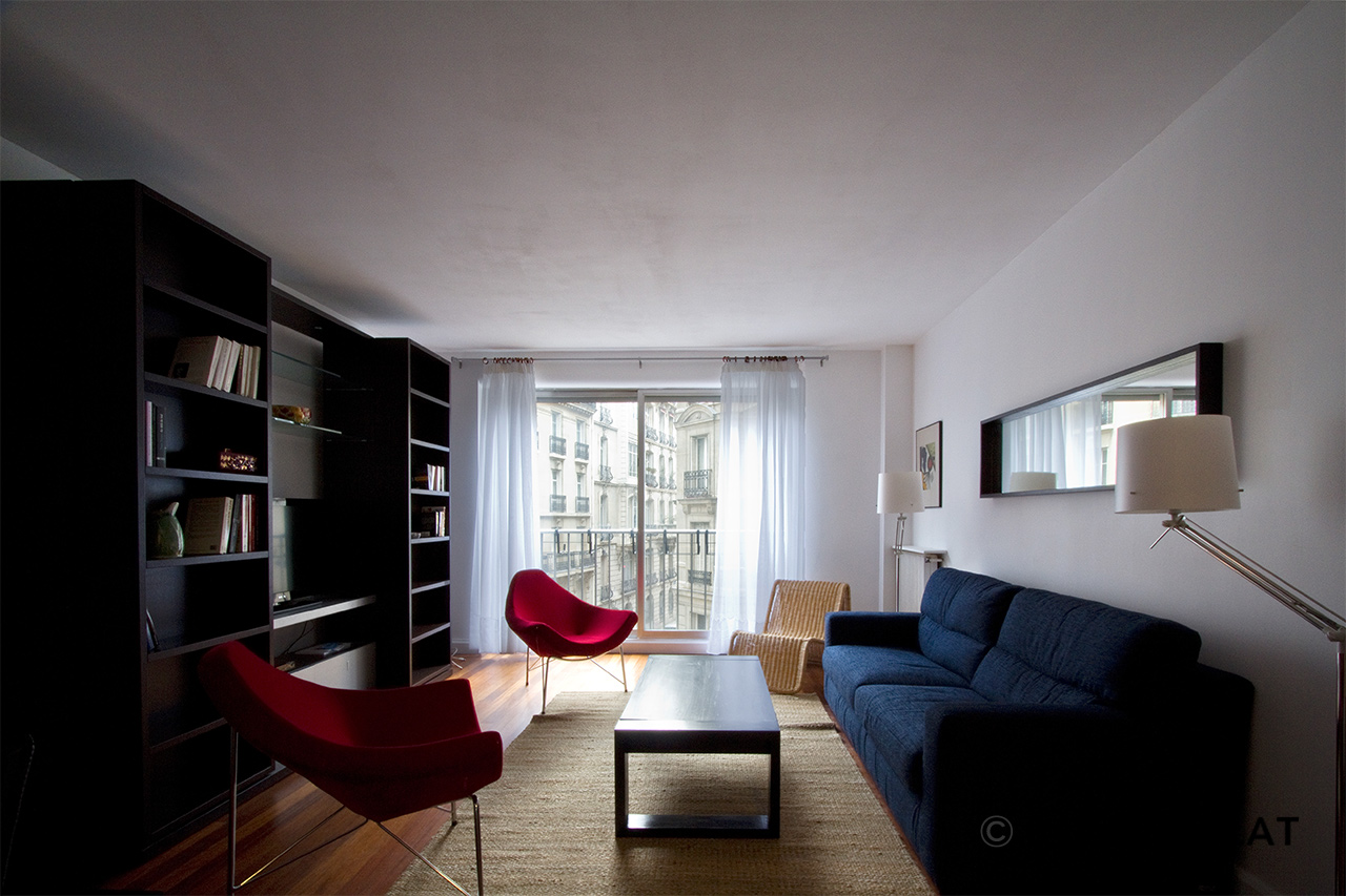 Paris Rue de Chazelles Apartment for rent