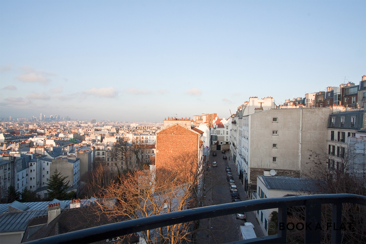 Apartment Paris Rue Ravignan 11