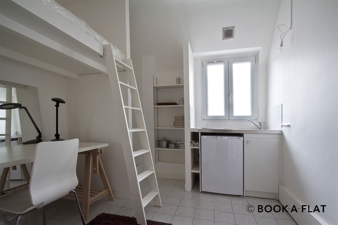 Location appartement meubl avenue du pr sident kennedy for Appartement meuble a louer a paris