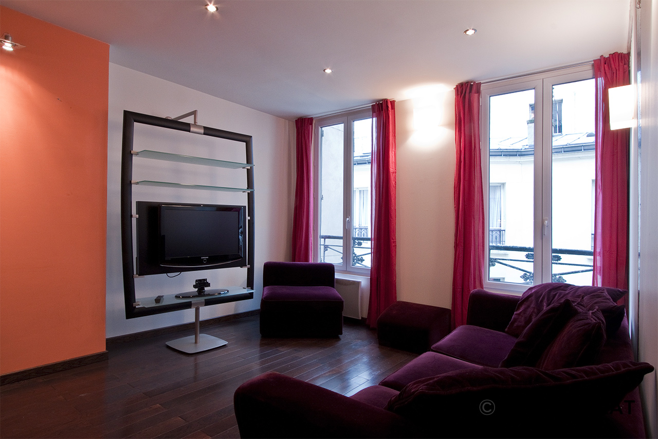 Furnished apartment for rent Paris Rue du Faubourg Saint Denis
