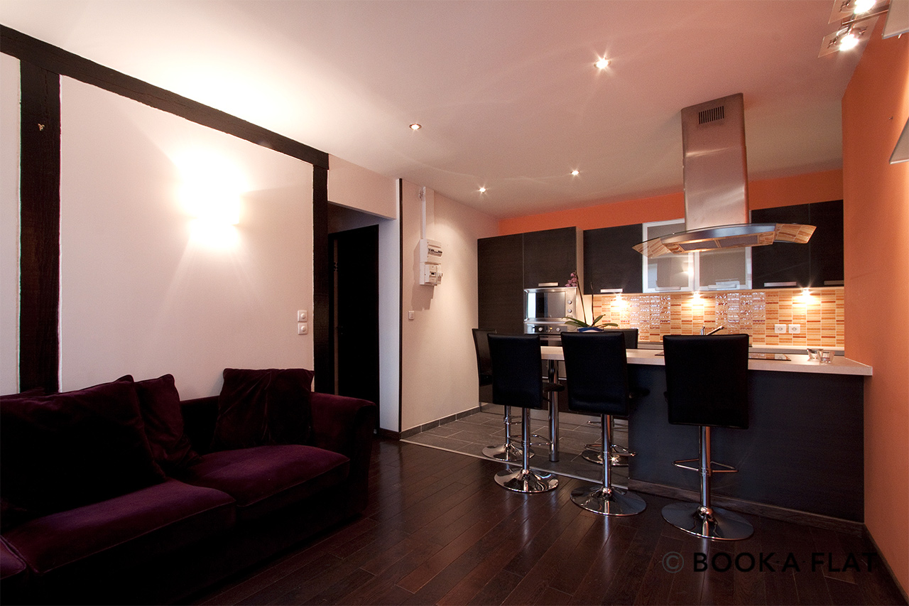Apartment Paris Rue du Faubourg Saint Denis 3