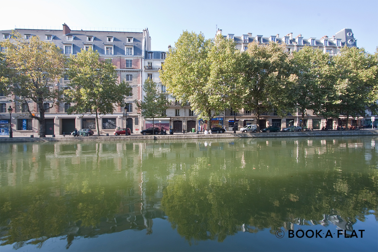 Appartement Paris Quai de Jemmapes 11