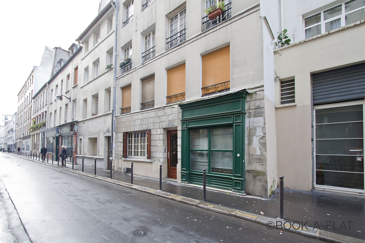 Appartement Paris Rue Saint Nicolas 7